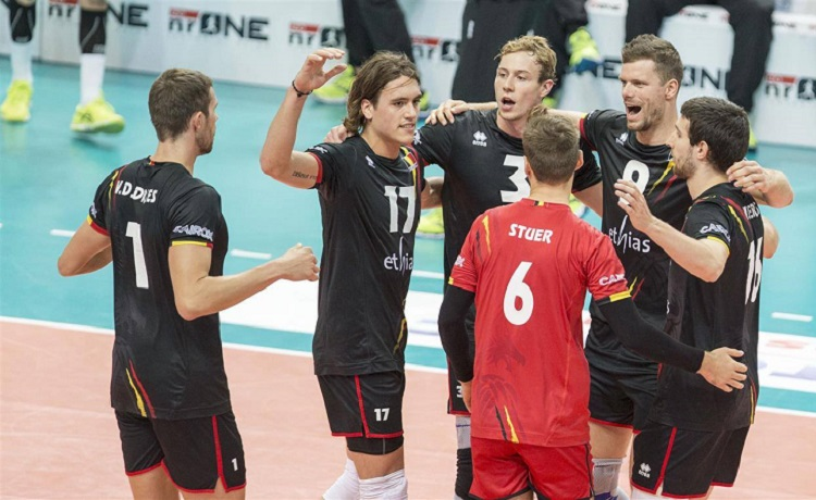 Belgio-Volley-Maschile