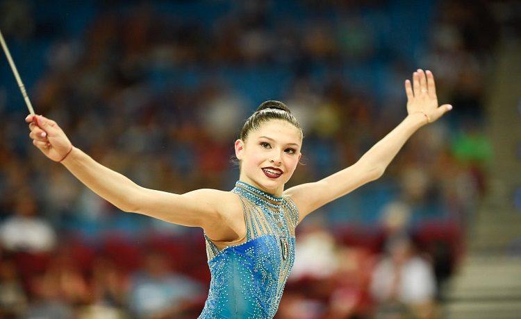 Ginnastica ritmica, le Farfalle azzurre, campionesse mondiali nei 5 cerchi