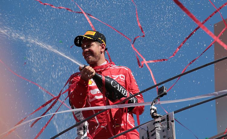 F1, Vettel torna alla vittoria in Brasile