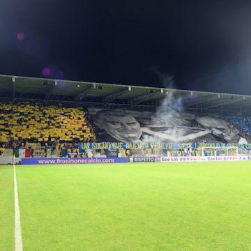 Curva Frosinone stadio Benito Stirpe