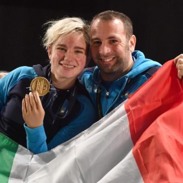 Bebe Vio e Simone Vanni