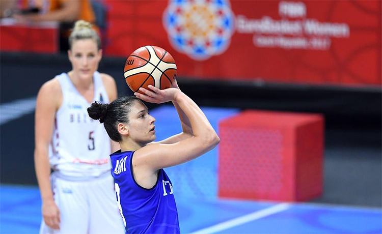 Calendario Italia Basket Europei.Basket Femminile Qualificazioni Europei 2019 Calendario E
