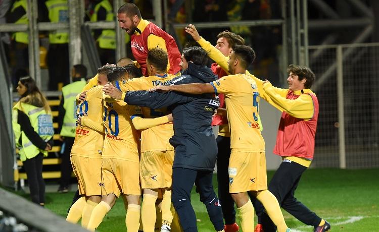 Esultanza Frosinone 2017-2018