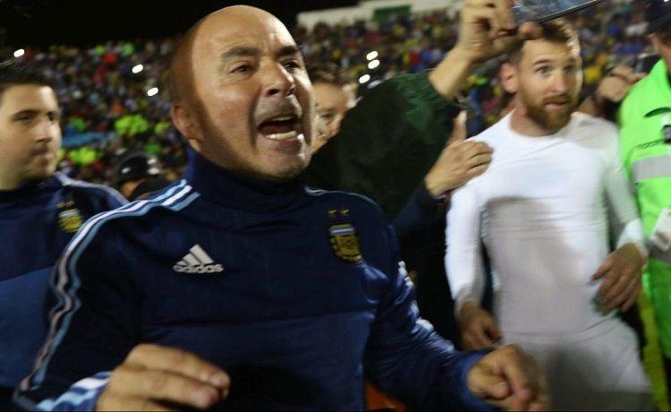 Guai in Argentina per il ct dell'Albiceleste Jorge Sampaoli