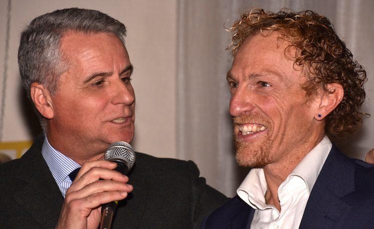 Alberto Cova e Maurizio Di Pietro