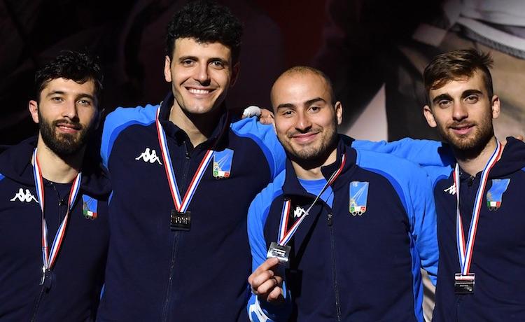 Giorgio Avola, Andrea Cassarà, Alessio Foconi, Daniele Garozzo