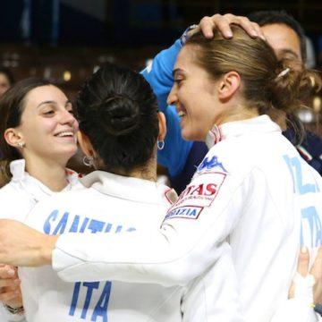 Rossella Fiamingo, Alberta Santuccio, Giulia Rizzi