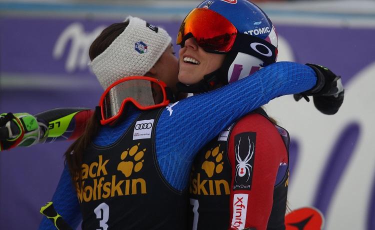 Sofia Goggia e Mikaela Shiffrin