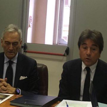 Gabriele Gravina e Roberto Pella