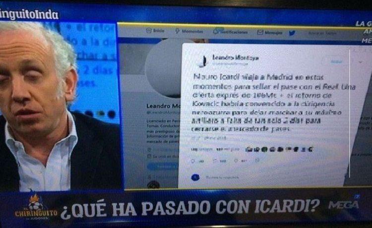 Inter, infortunio per Icardi: c'è un rischio
