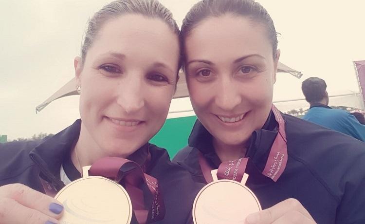 Chiara Cainero e Diana Bacosi