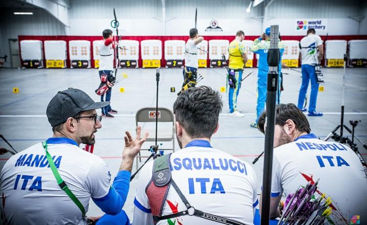Max Mandia, David Pasqualucci e Mauro Nespoli