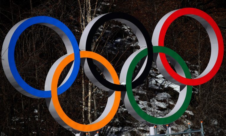 I cinque cerchi olimpici