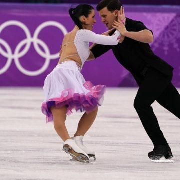 Olimpiadi PyeongChang 2018 - Charlene Guignard e Marco Fabbri