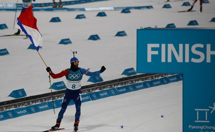 Olimpiadi PyeongChang 2018 Martin Fourcade