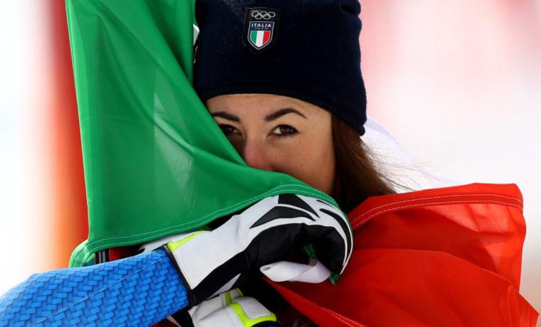 Sofia Goggia ha vinto la Coppa del mondo di discesa libera