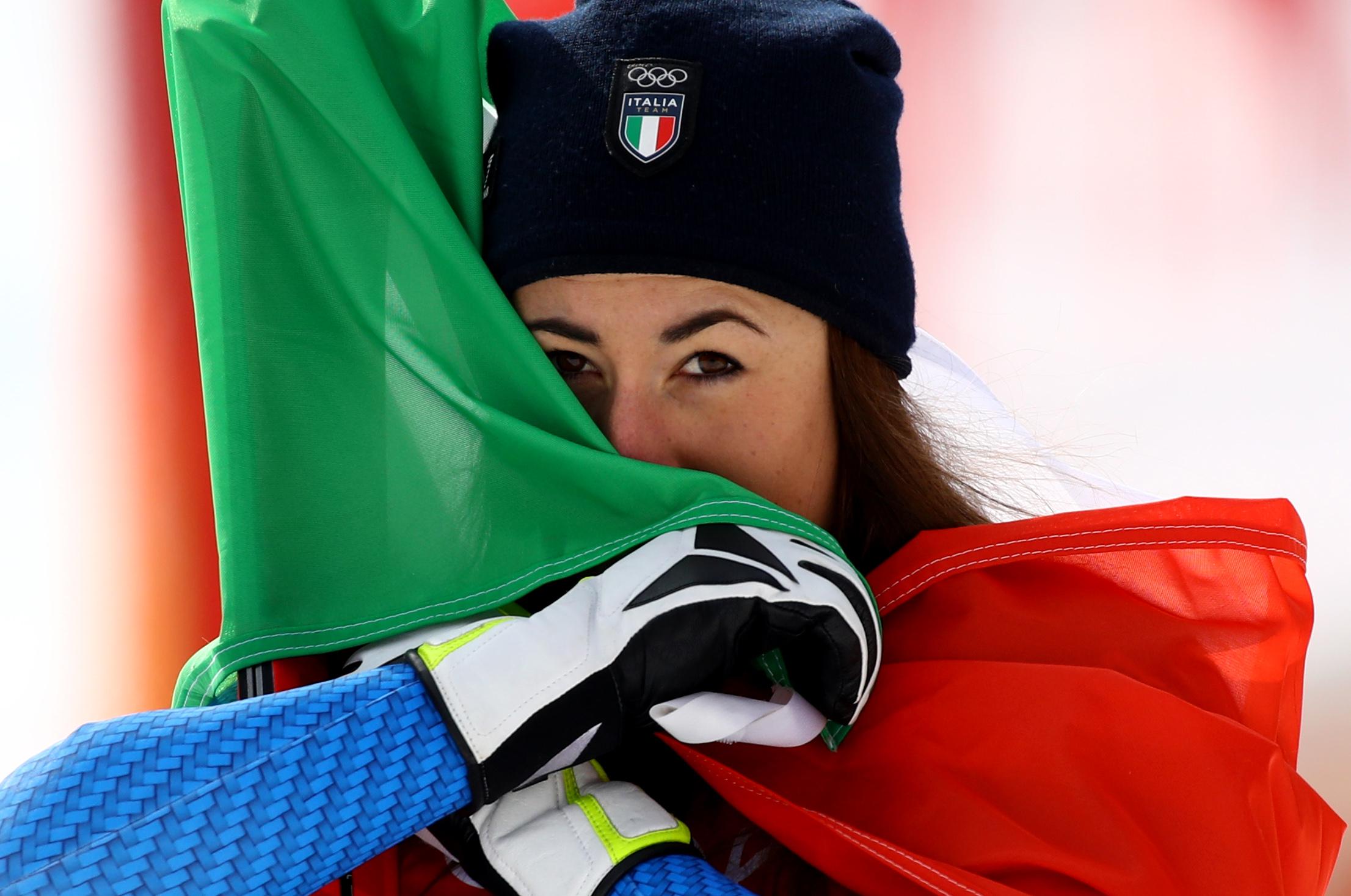 Sofia Goggia - Photo: Pentaphoto/Marco Trovati.