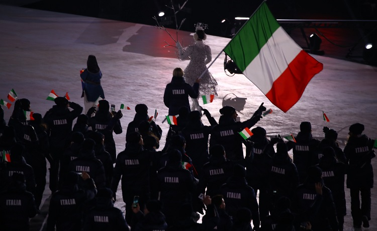 Olimpiadi PyeongChang Italia cerimonia d'apertura