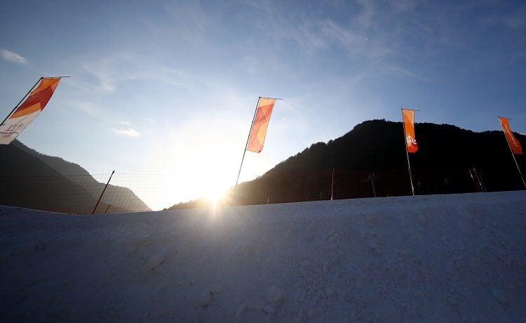 Olimpiadi Pyeong Chang 2018 Yeongseon sci alpino