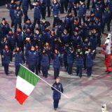 Olimpiadi PyeongChang cerimonia d'apertura Italia