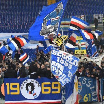 Curva tifosi Sampdoria