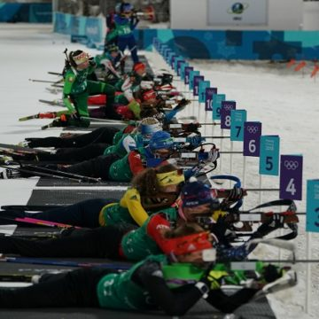 Biathlon a PyeongChang - Photo: Pentaphoto / Giovanni Auletta
