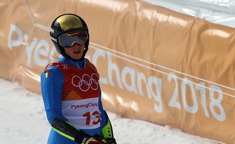 Olimpiadi, combinata: la gioia irrefrenabile di Michelle Gisin