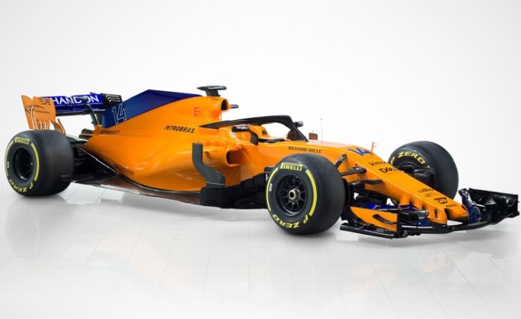McLaren 2018 MCL33