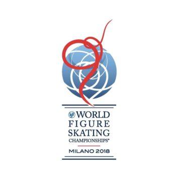 Logo Mondiali pattinaggio di figura MIlano 2018