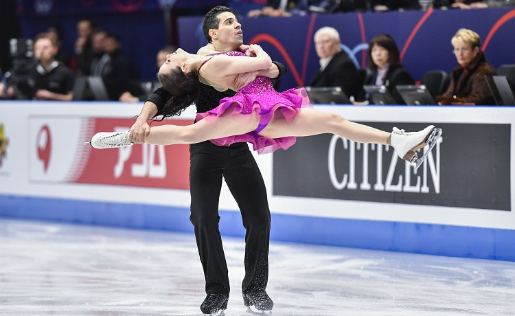 Anna Cappellini e Luca Lanotte - Mondiali pattinaggio Milano 2018