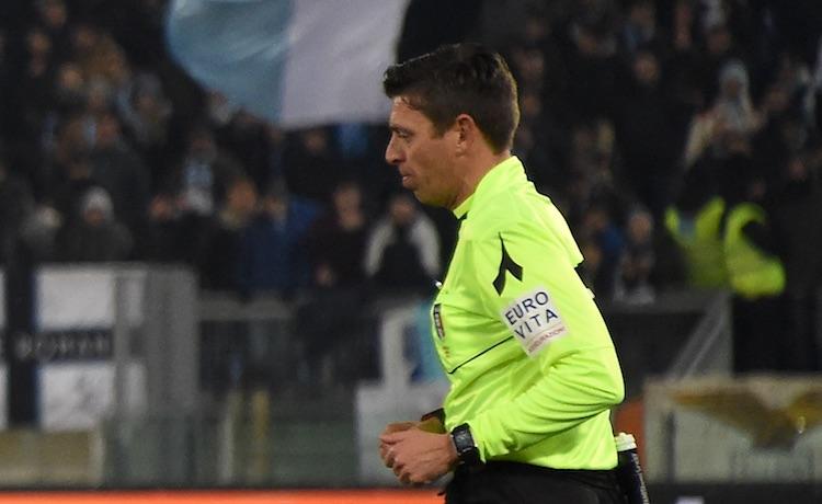 L'arbitro Gianluca Rocchi