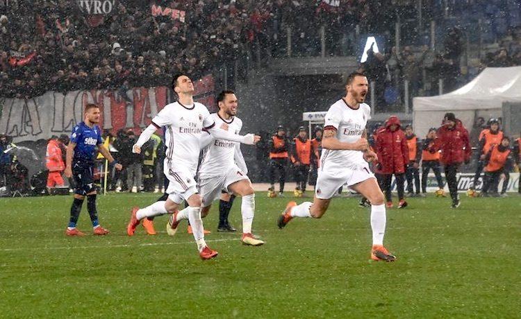 Milan, Bonucci in lacrime per Astori