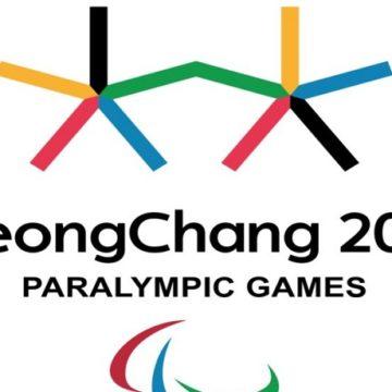 Logo Paralimpiadi Pyeongchang 2018