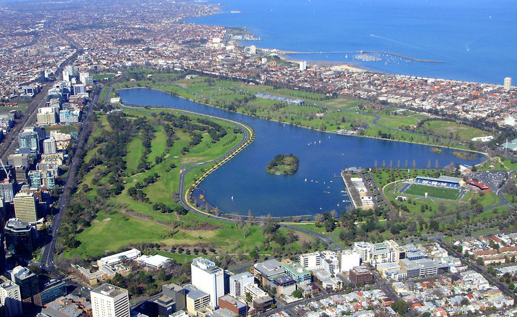 Albert Park, Melbourne - Foto Tim Serong - CC-BY-SA-3.0