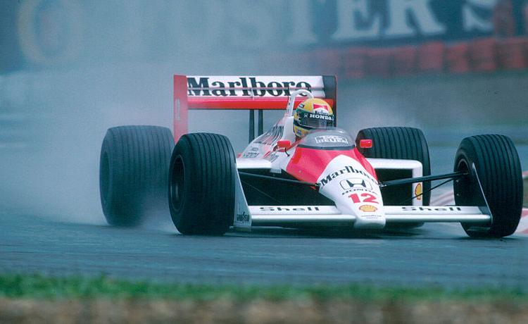 Ah, da quando Senna non corre più. Ciao Ayrton