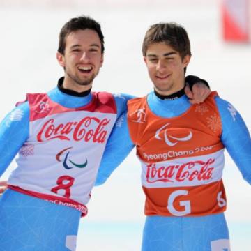 Fabrizio Casal e Giacomo Bertagnolli - Foto Fip