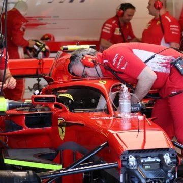 Box Ferrari - Foto Bruno Silverii