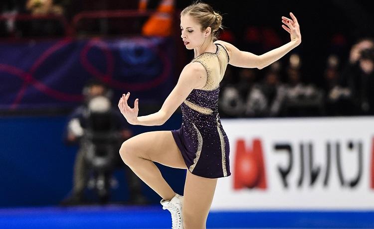 Carolina Kostner - Mondiali Milano 2018