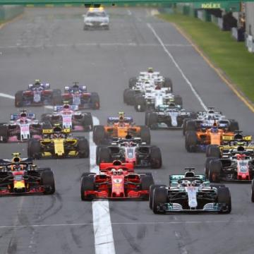 Partenza Formula 1 2018 - Foto Bruno Silverii