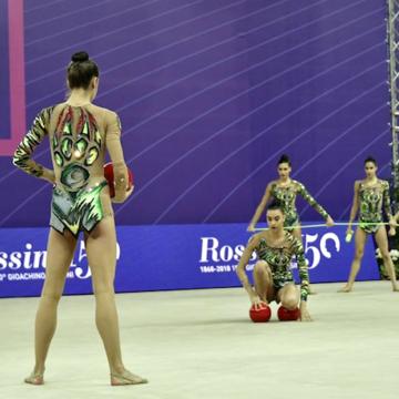 Le Farfalle della ginnastica ritmica