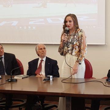 Marta Pagnini e Giovanni Malagò
