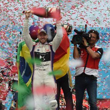Sam Bird - Formula E GP Roma