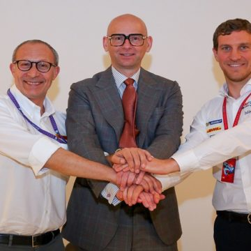 Mario Zini, Alberto Nobis e Renato Bisignani