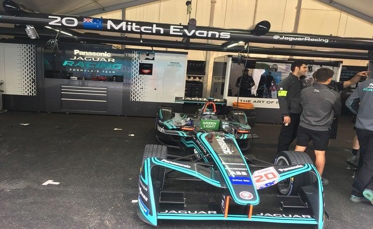 Formula E, Mitch Evans, Panasonic Jaguar - Foto Sportface