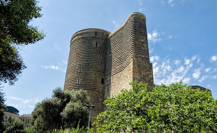 Maiden Tower (Baku) - Foto Dan Lundberg - CC-BY-SA-2.0