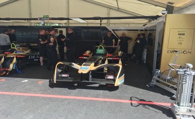 Formula E, Jean Eric Vergne - Foto Sportface