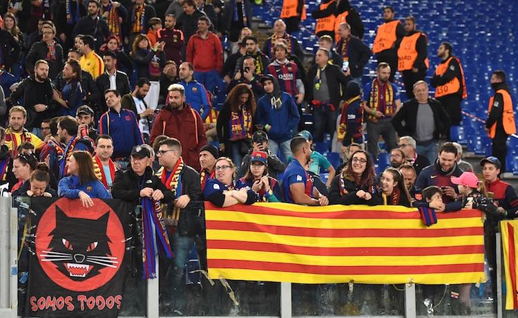I tifosi del Barcellona