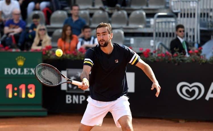 Tennis: Fognini mette paura a Cilic, ma lascia Parigi