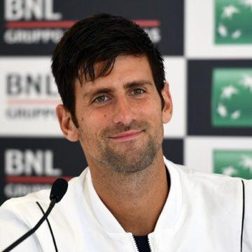 Novak Djokovic Internazionali BNL d'Italia 2018