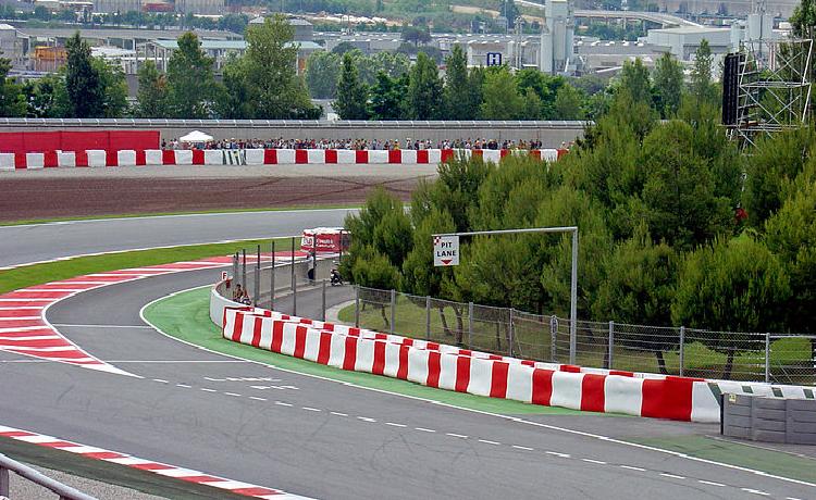Circuito della Catalogna, Montmelò (Barcellona) - Foto Pedroserafin - CC-BY-3.0